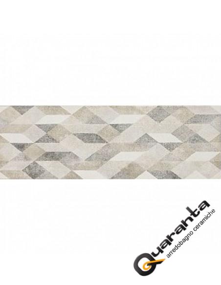 Marazzi Chalk Butter Decoro Origami 25x76