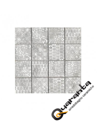 MOSAICO MARAZZI CHALK TEXTURE GREY 30X30