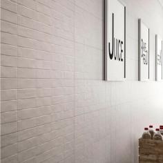 Marazzi Chalk Grey Struttura Brick 3D 25x76