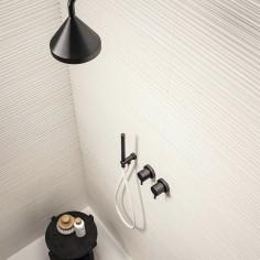 Marazzi Chalk Butter Struttura Fiber 3D 25x76