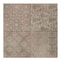 DECORO MARAZZI POWDER DECORO LIBERTY SMOKE SAND MUD 75X75