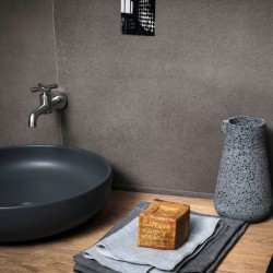 PAVIMENTO MARAZZI POWDER GRAPHITE RT 75X150