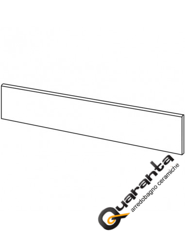 BATTISCOPA MARAZZI PLASTER ANTHRACITE 7X75
