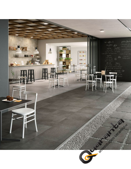 BATTISCOPA MARAZZI PLASTER GREY 7X60