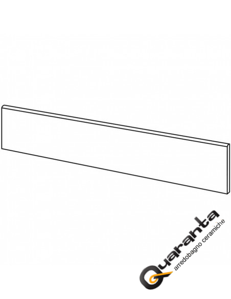 BATTISCOPA MARAZZI PLASTER BUTTER 7X75