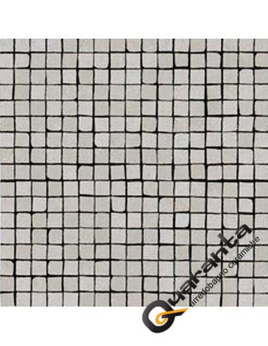 MOSAICO MARAZZI PLASTER GREY 30X30