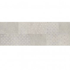 DECORO MARAZZI STONE ART PATTERN STEEL 40X120