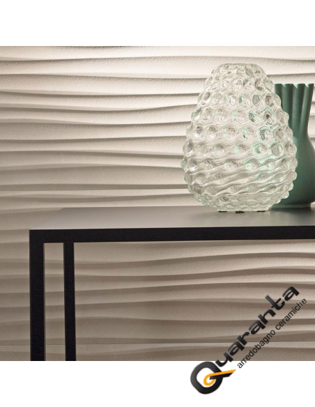 RIVESTIMENTO MARAZZI STONE ART IVORY STRUTT MOVE 3D  40X120