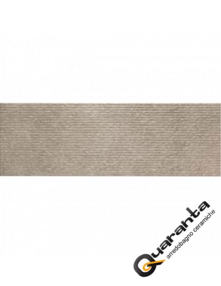 Marazzi Stone Art Moka Struttura Woodcut 3D rettificato 40x120