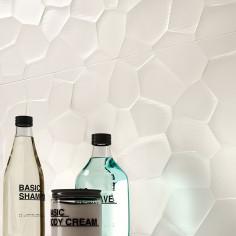 Marazzi Color Code Bianco Struttura Deco 3D Sat rettificato 30x60