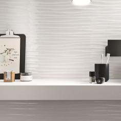 Marazzi Essenziale Structure Wave 3D Lux rectified 40x120