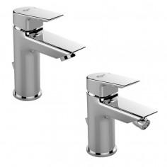 Ideal standard Kit Ceramix miscelatore monocomando lavabo e bidet
