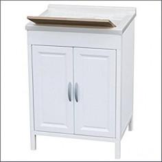 Mobile lavatoio in resina 60x60x84