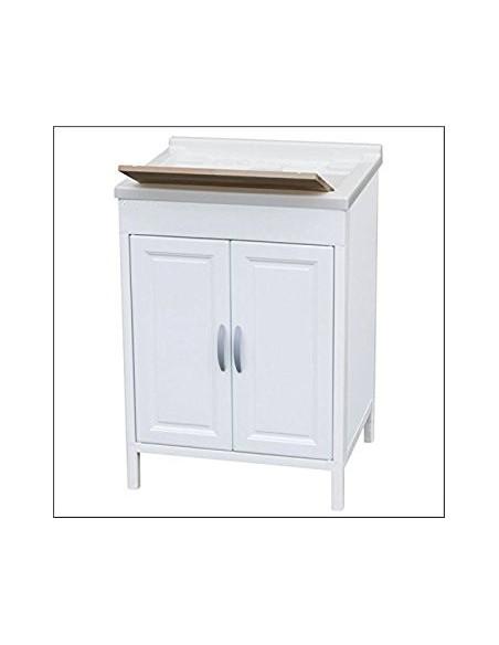 mobile lavatoio in resina 60x50x84