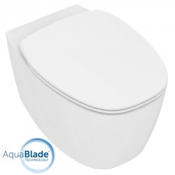 Vaso sospeso Aquablade Ideal Standard Dea completo di coprivaso rallentato