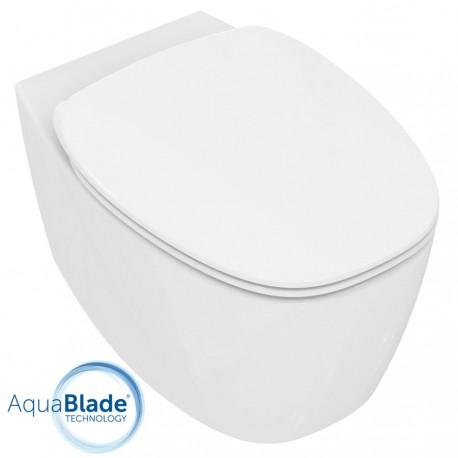 ideal standard dea vaso sospeso aquablade e coprivaso rallentato quaranta ceramiche srl. Black Bedroom Furniture Sets. Home Design Ideas