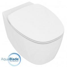 Ideal Standard Dea vaso filo muro AquaBlade e coprivaso slim