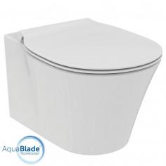 Ideal Standard Connect AIR vaso sospeso AquaBlade e coprivaso rallentato