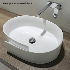 Flaminia Roll Counter Top Basin 560 mm