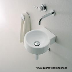 Flaminia Mini Twin lavabo sospeso cm 30