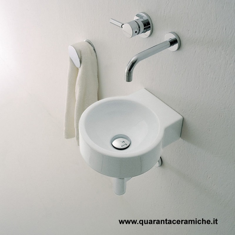 Flaminia lavabo mini twin cm 30 art 5059 quaranta - Mini lavabo bagno ...