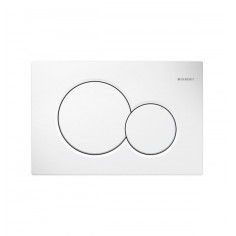 Flush plate Geberit Sigma 01 White