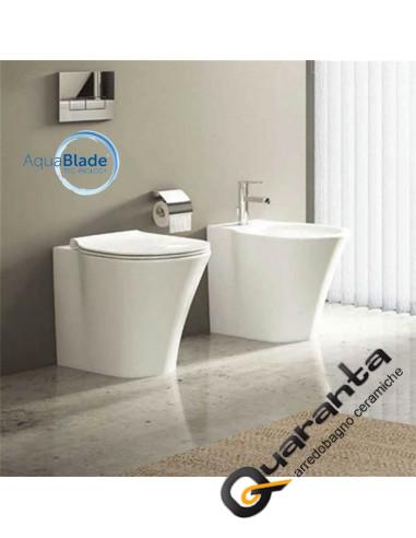 Ideal Standard Vaso Connect.Ideal Standard Connect Air Sanitari Filo Muro Quaranta Ceramiche