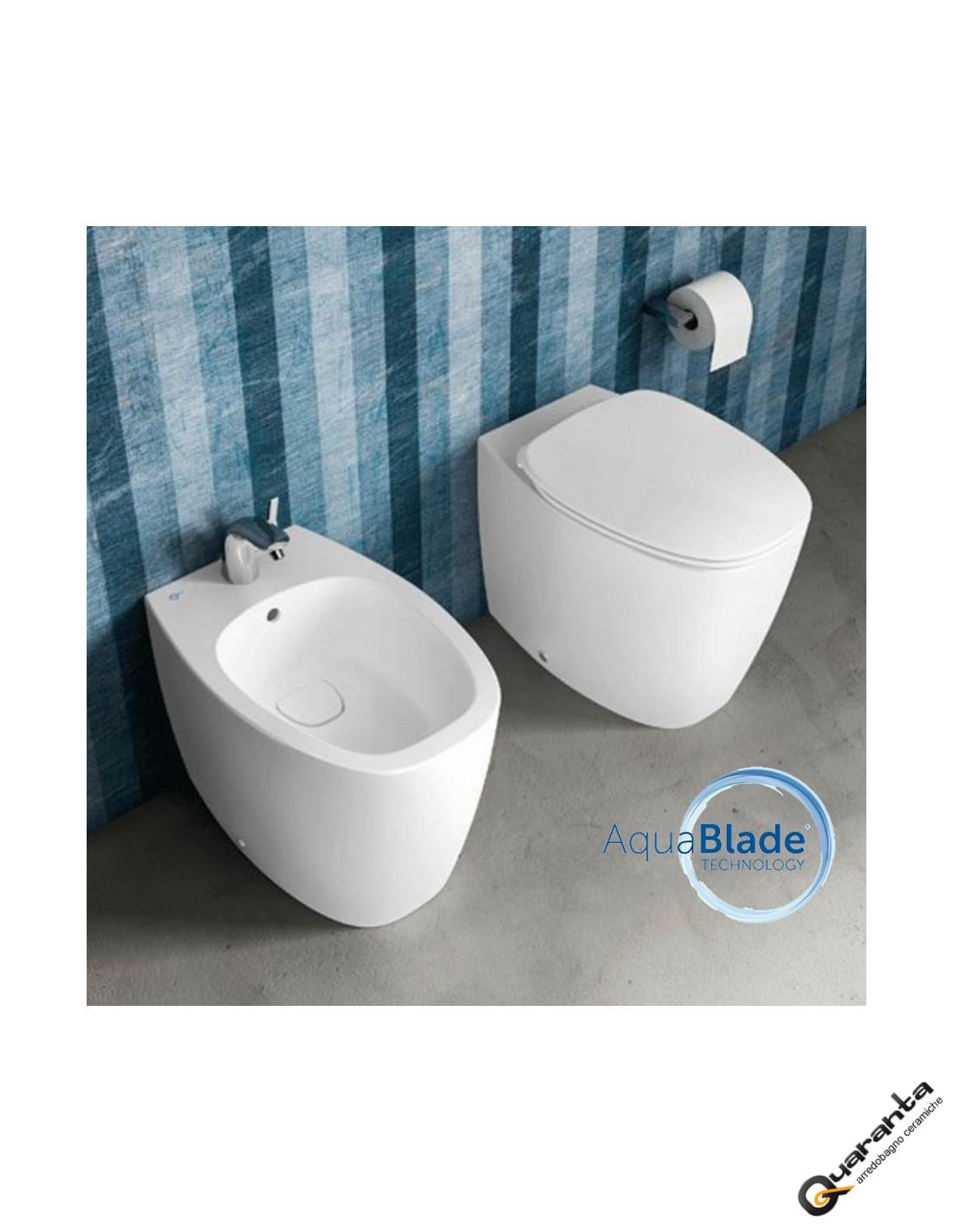 dea - sanitari filo muro - ideal standard -quaranta ceramiche srl