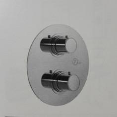 Kit termostatico doccia incasso 1 via con miscelatore lavabo e miscelatore bidet