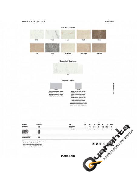 MARAZZI PREVIEW MARFIL LUX RETT 58X116