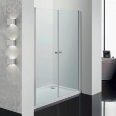 Doroti porta a saloon 70 cm trasparente cristallo 6 mm altezza 185 cm