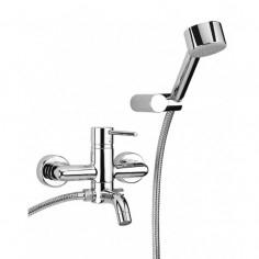 Paini Cox miscelatore vasca esterno con doccia duplex