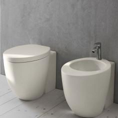 Sanitärkeramik mit Wandanschluss Cielo Le Giare TALCO WC e Bidet
