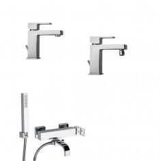 Paini Dax RS miscelatore lavabo, bidet e vasca esterno con doccia