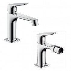 Hansgrohe Axor Citterio M single lever basin and bidet taps