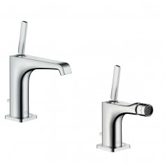 Hansgrohe Axor Citterio E single lever basin and bidet taps