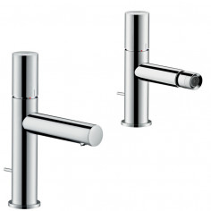 Hansgrohe Axor Uno single lever basin and bidet taps