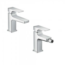 Hansgrohe Metropol single lever basin and bidet tap