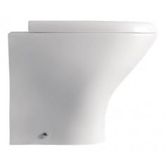 Kerasan Aquatech filo muro vaso e coprivaso avvolgente soft close