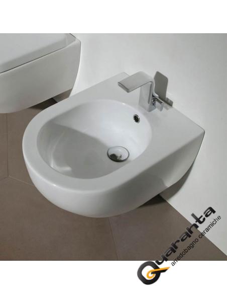 Ceramica Flaminia App bianco opaco bidet sospeso