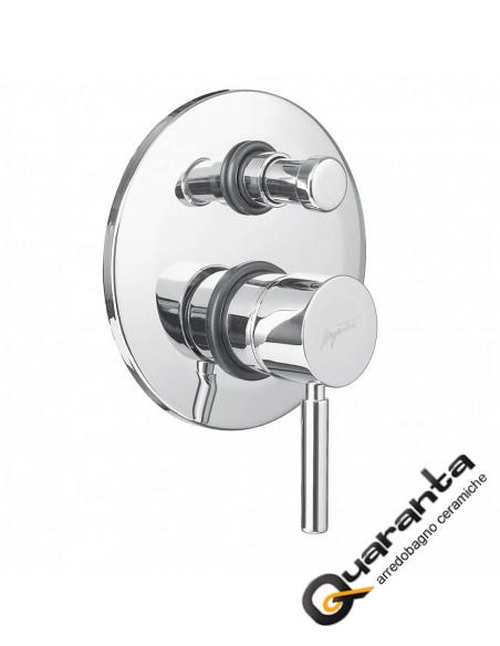 Paini Cox monocomando vasca esterno con doccia duplex