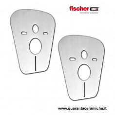 Fischer anti-noise membranes for wall mounted toilet and bidet