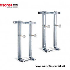 Fischer couple of support brackets for wall mounted toilet and bidet