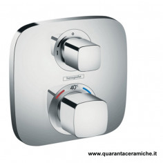 Hansgrohe Ecostat E set esterno termostatico incasso con arresto