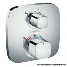 Hansgrohe Ecostat E set esterno termostatico incasso/deviatore con arresto
