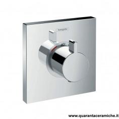 Hansgrohe ShowerSelect, set esterno termostatico ad incasso ad alta portata