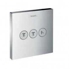 Hansgrohe ShowerSelect, set esterno ad incasso per 3 utenze