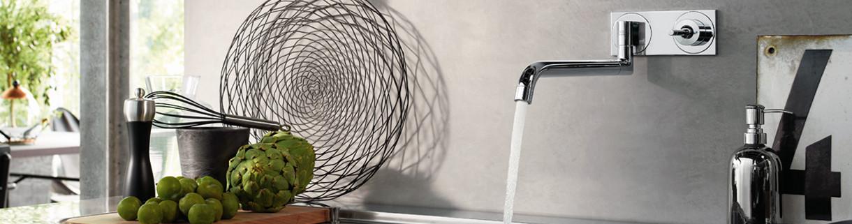 Miscelatore cucina a muro |Quaranta Ceramiche srl