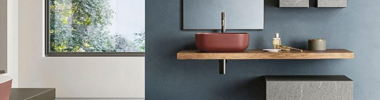 Mensole Porta lavabo al miglior prezzo | Quaranta Ceramiche srl
