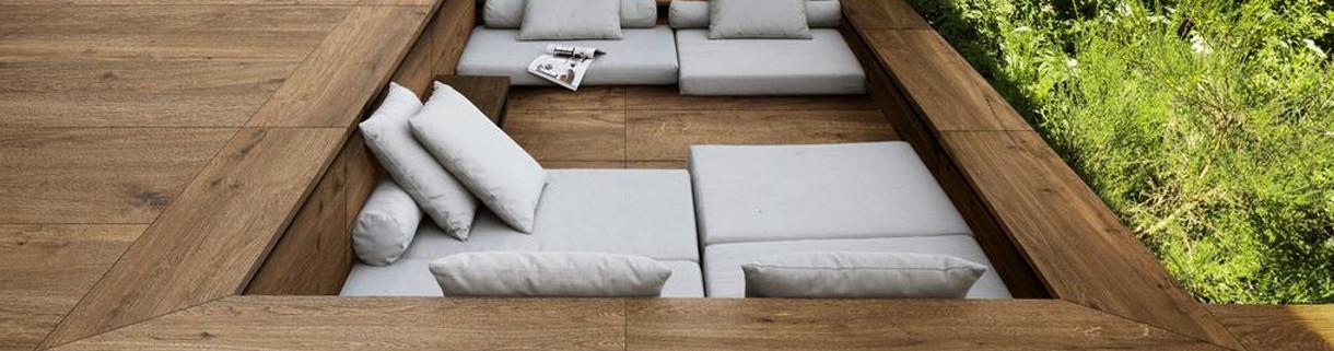 Pavimento per esterni effetto legno - gres esterno |Quaranta ceramiche